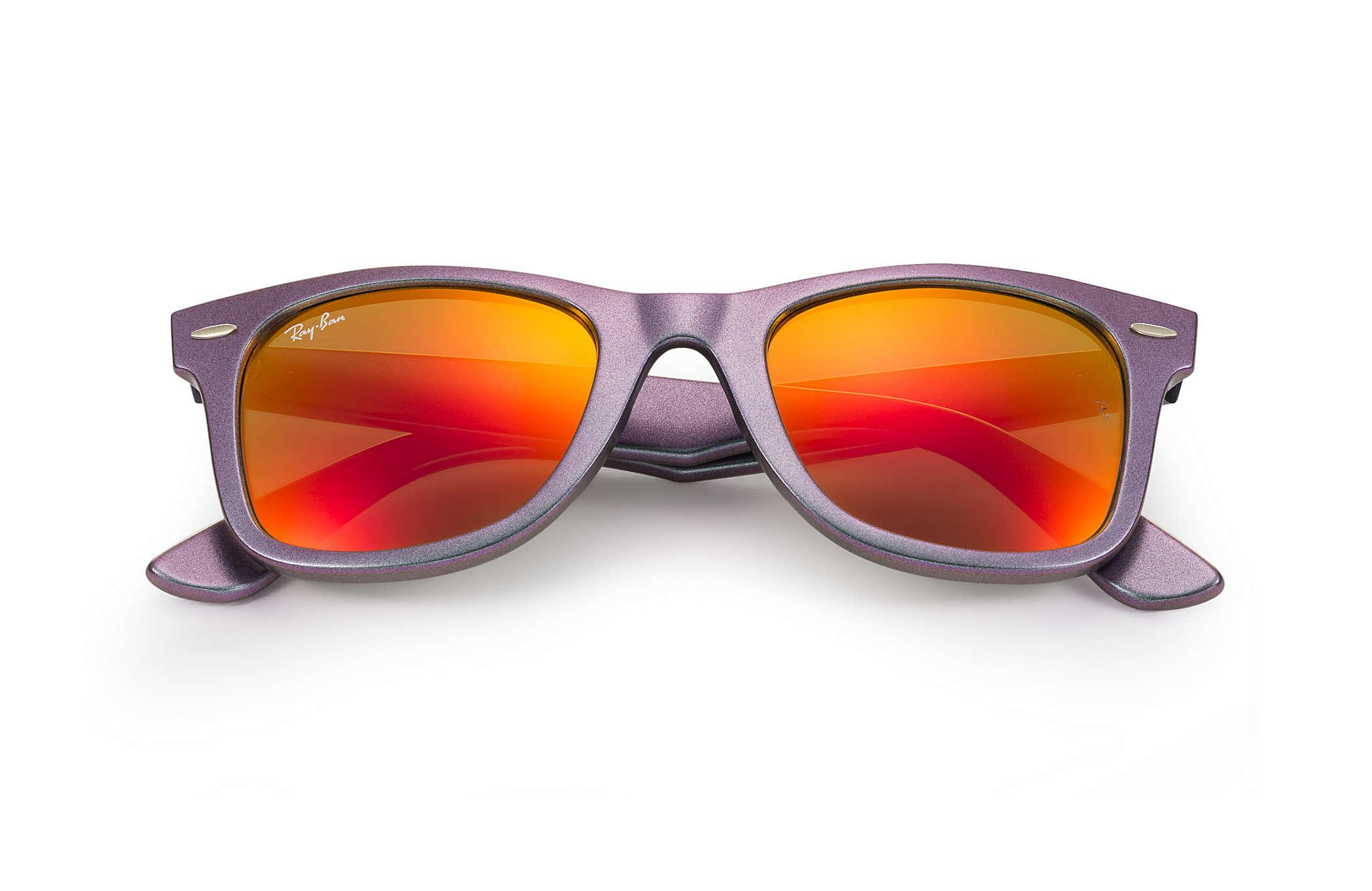 514a157b762ea Ray-Ban - Orange Original Wayfarer Cosmo - Lyst. View fullscreen