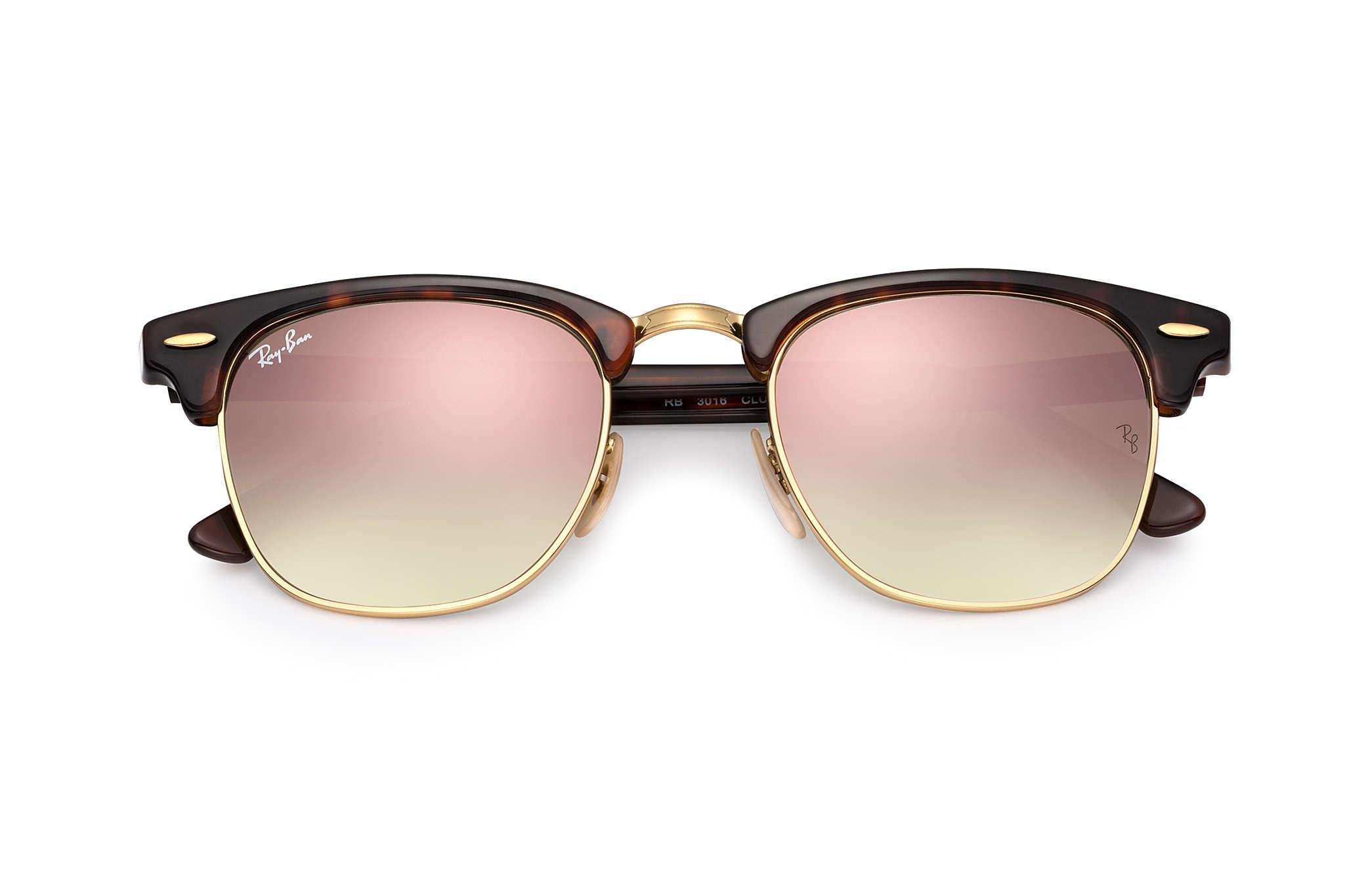 c58cadeb04 Ray-Ban - Multicolor Clubmaster Flash Lenses Gradient for Men - Lyst. View  fullscreen