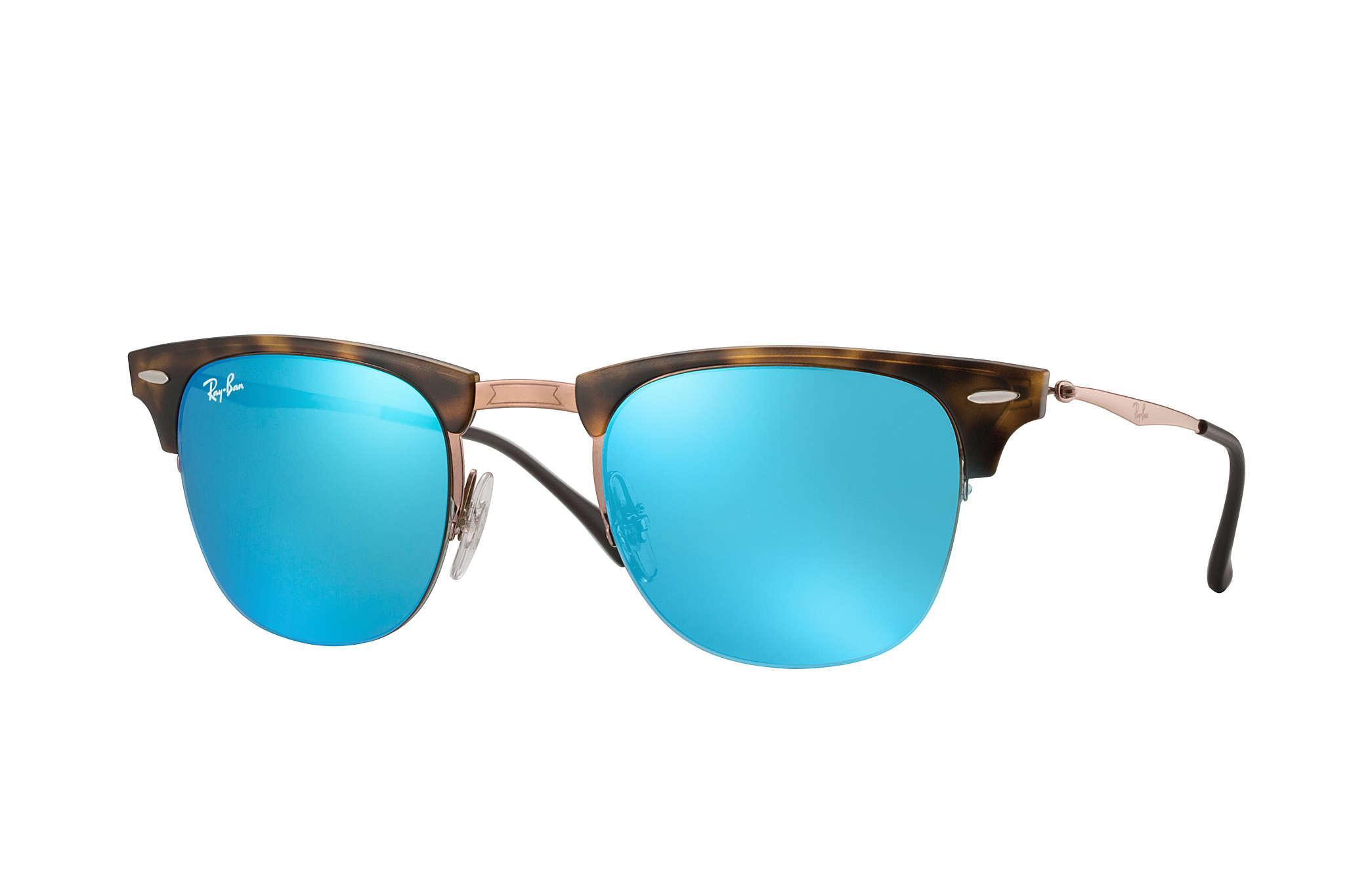 5908b6aa02 Ray Ban Rb3026 Blue   Gold Aviator Pilot Sunglasses « One More Soul