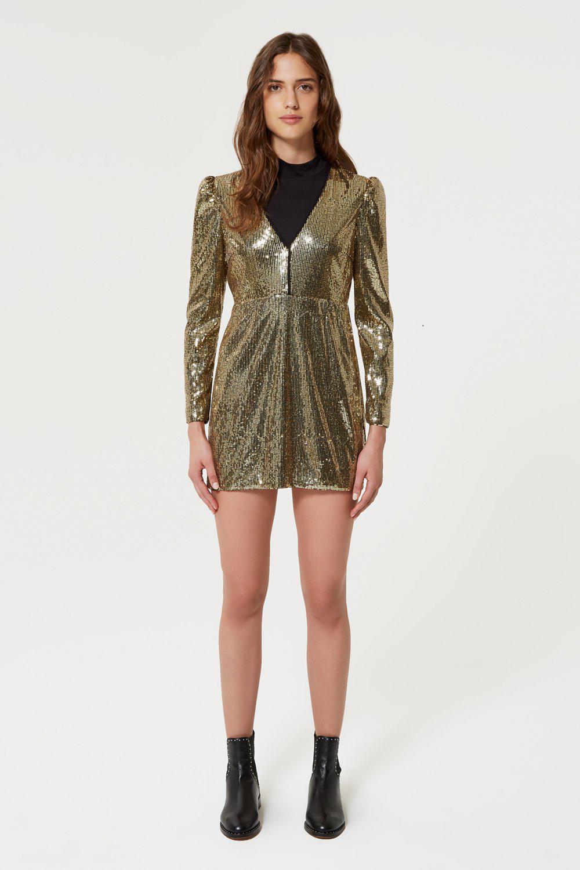 e288f0a6be281d Rebecca Minkoff Sydney Dress in Metallic - Lyst