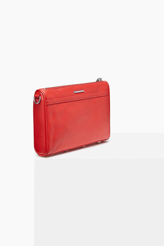 Rebecca Minkoff Leather Mini M.a.c. Crossbody in Red