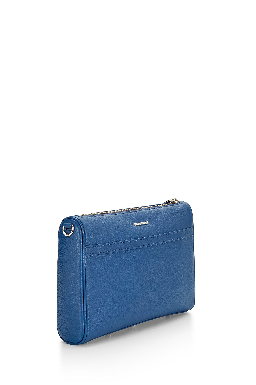 Rebecca Minkoff Leather M.a.c. Crossbody in Blue