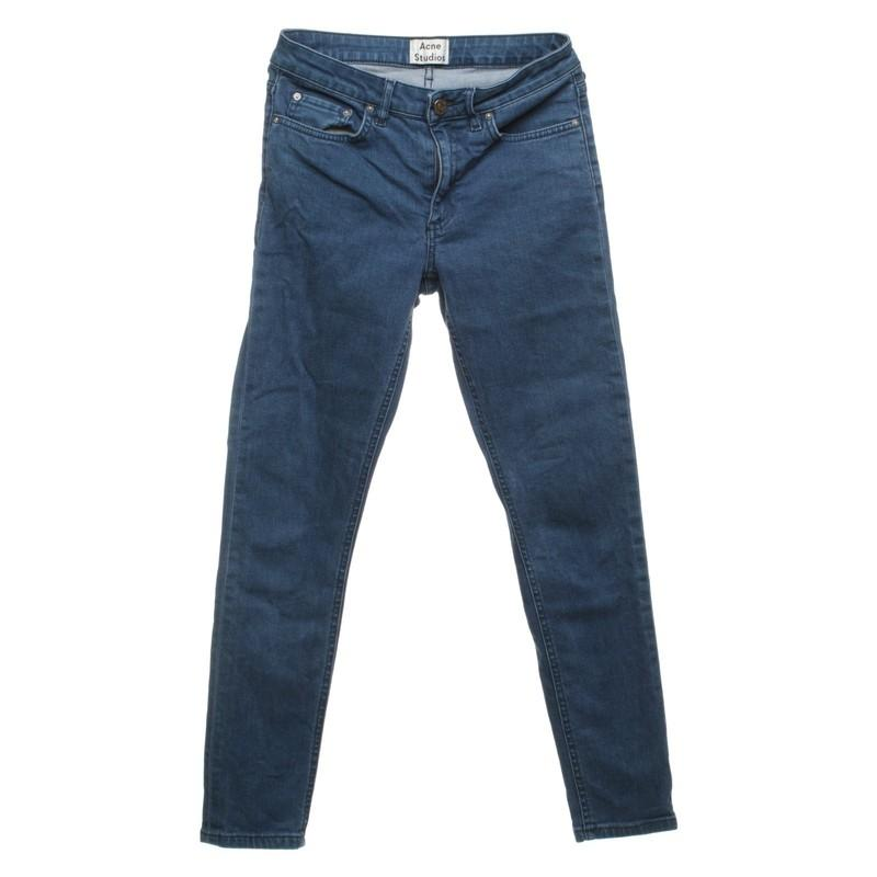 Acne Studios Denim Skinny Jeans in Blau ie7UC