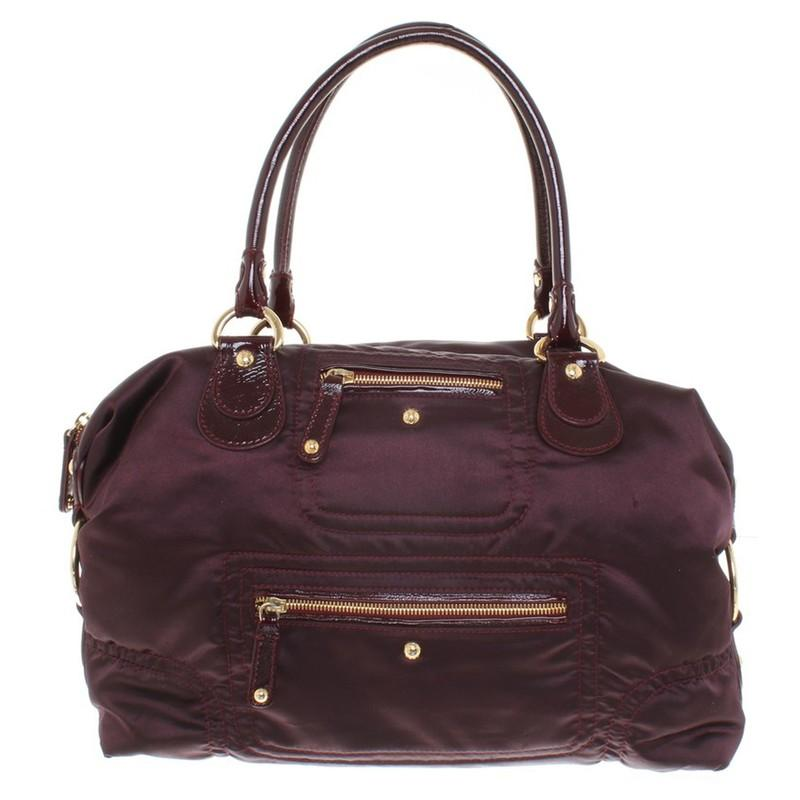 Tod's Synthetik Handtasche in Lila za1cH