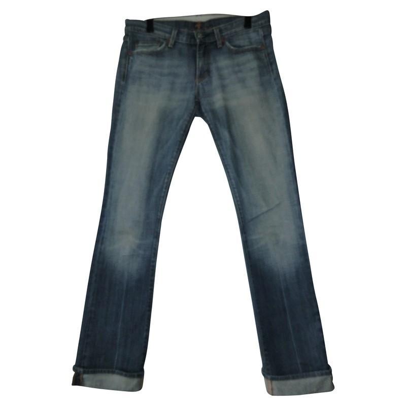 7 For All Mankind Denim Jeans in Blau - Sparen Sie 4% Ptvyf