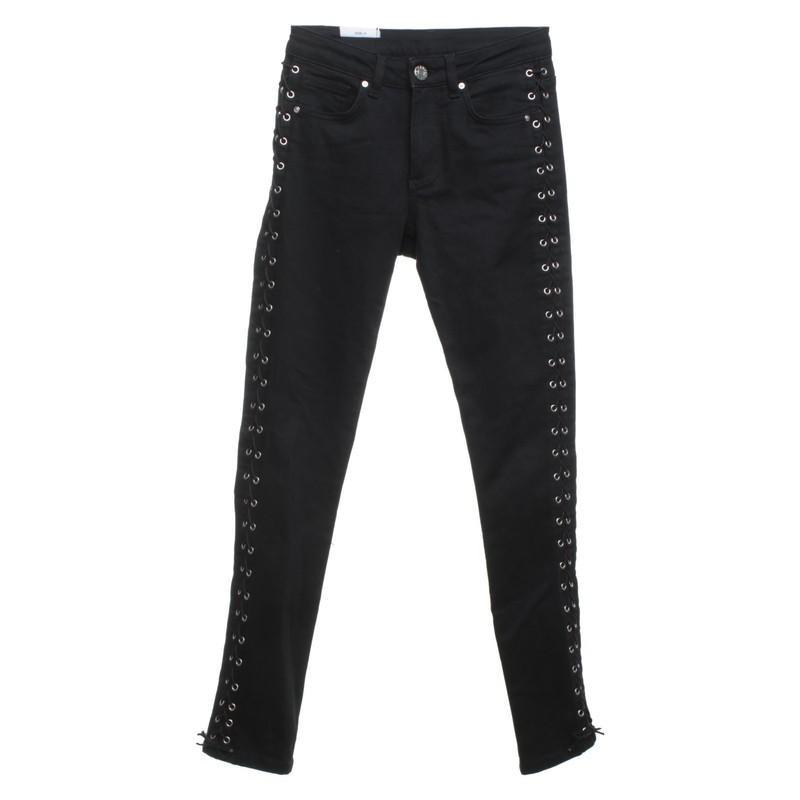 Zoe Karssen Denim Jeans in Schwarz - Sparen Sie 11% 14zYM