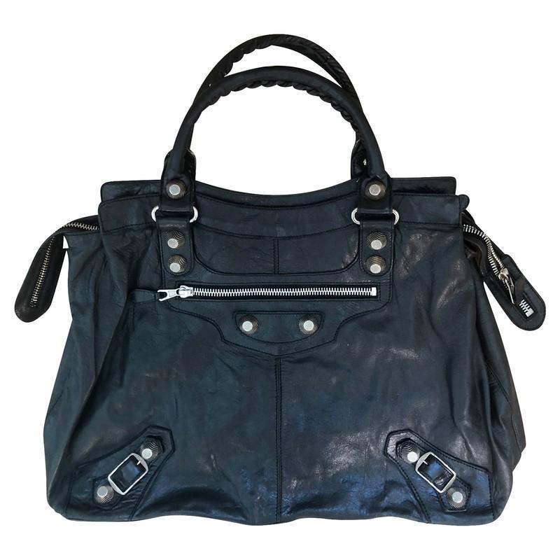 Balenciaga Handtasche in Schwarz 4zFTS
