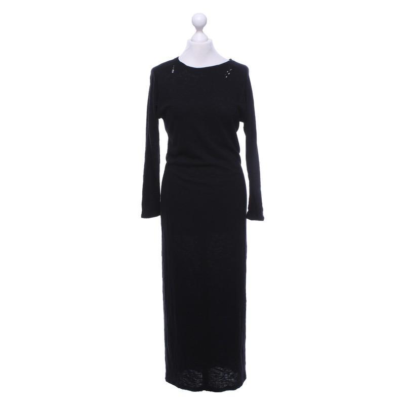 Zoe Karssen Kleid aus Baumwolle in Schwarz