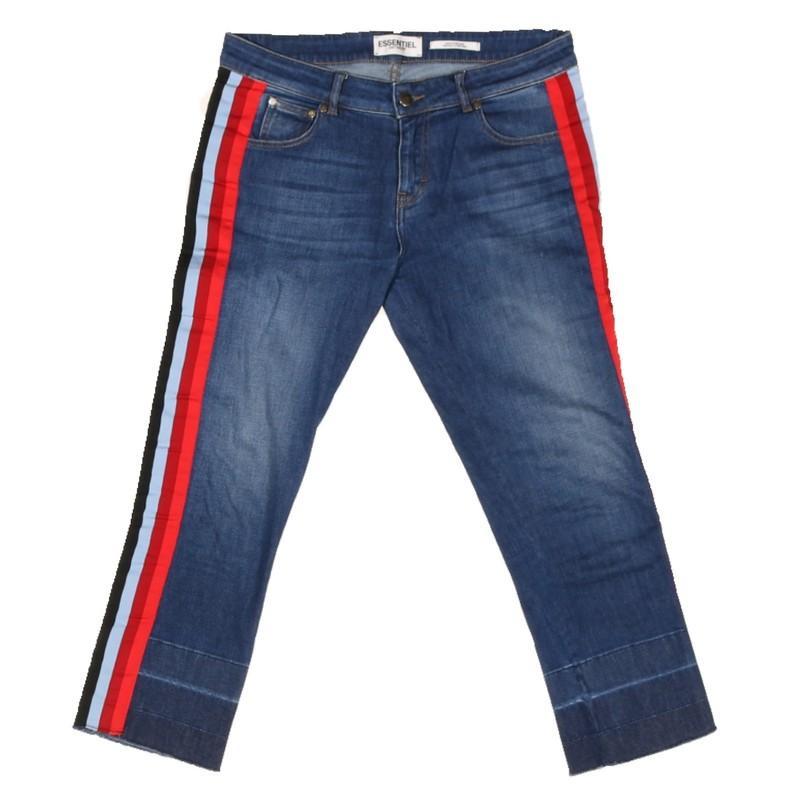 Essentiel Antwerp Denim Jeans aus Baumwolle in Blau - Sparen Sie 67% fujzN