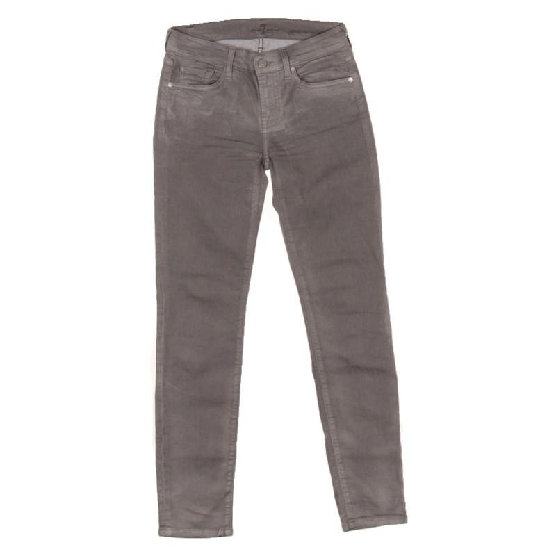 7 For All Mankind Denim Jeans in Grau atvDU