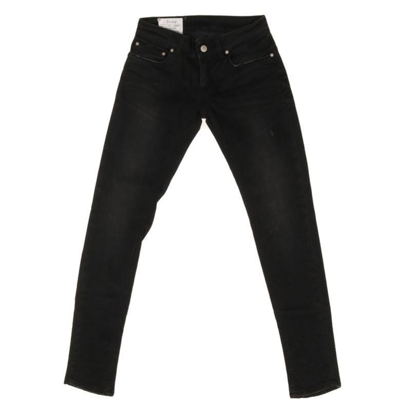 Dondup Denim Jeans aus Baumwolle in Schwarz EvAog