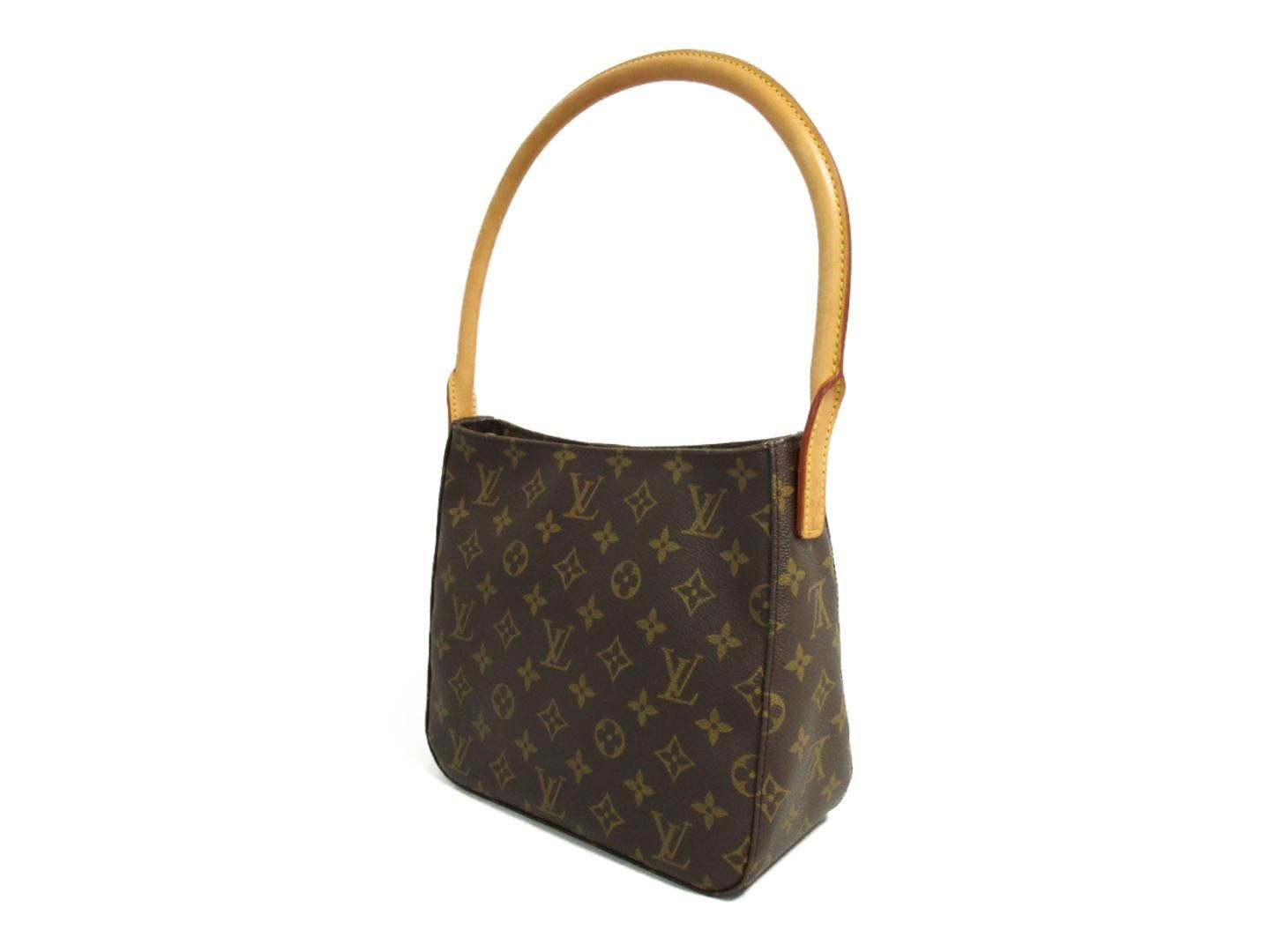 7dec85726f4c Lyst - Louis Vuitton Authentic Looping Mm Shoulder Bag M51146 Used ...