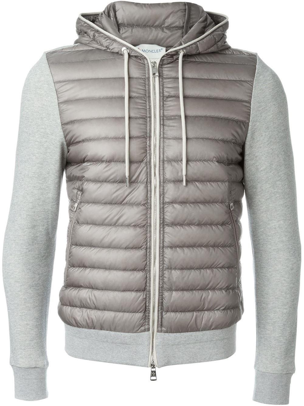 d1c0b2836652 Moncler - Gray  ollie  Padded Jacket for Men - Lyst. View fullscreen