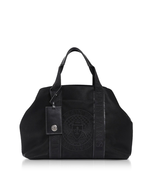 8c0d4e4dd034 ... Balmain - Black Nylon Mens Tote Bag for Men - Lyst. View fullscreen new  style  Versace ...