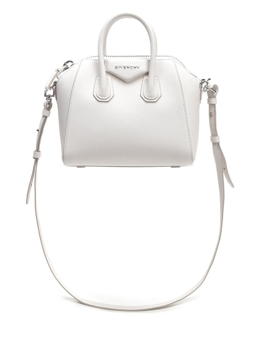586bf1204b Lyst - Givenchy Bags Ss19 White Leather Mini