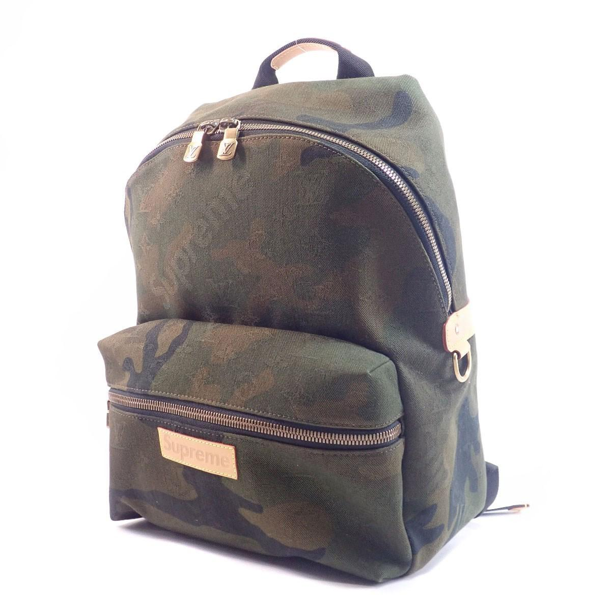 2b8ad835dea4 Lyst - Louis Vuitton Canvas Backpack · Daypack M44200 Supreme Apollo ...