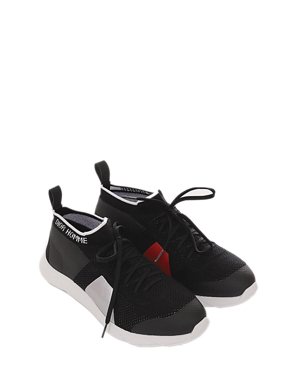 Dior Homme Rubber B21 Socks in Black