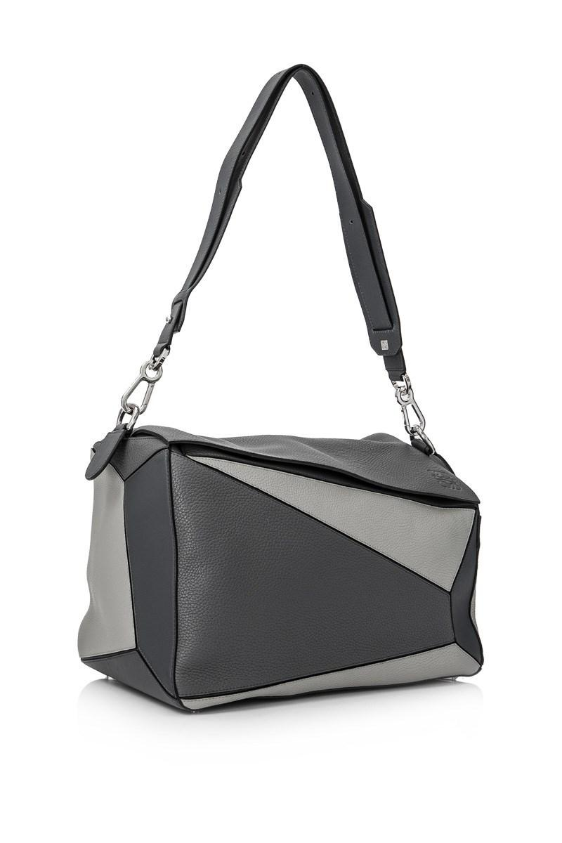 61fc5cab1df24a Loewe Puzzle Extra Large Bag in Gray - Save 25% - Lyst