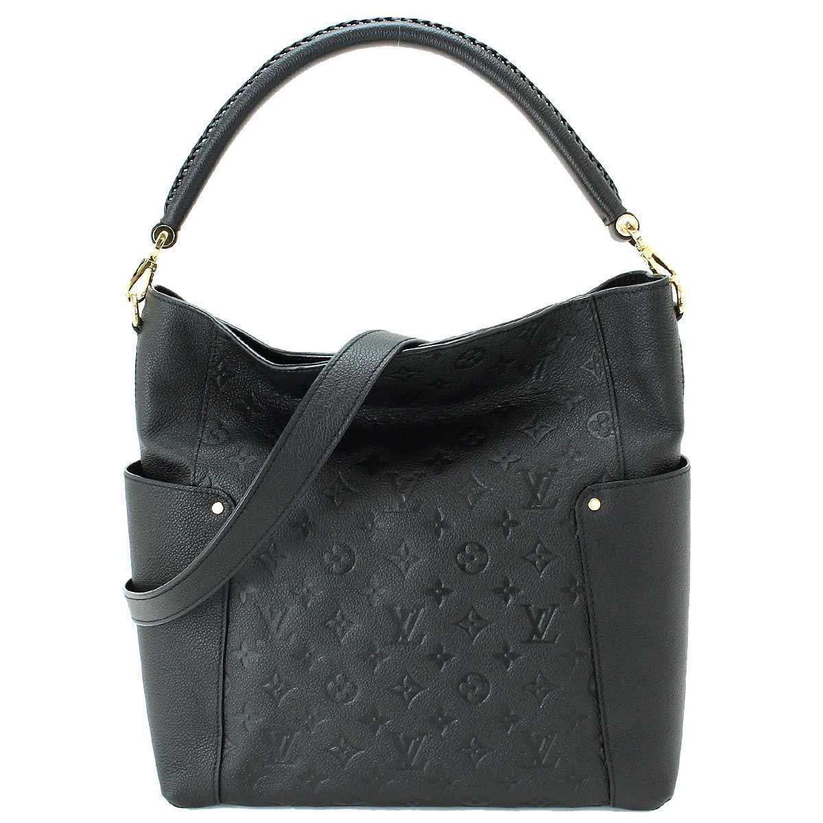 eb235a98f Louis Vuitton Empreinte Bagatelle 2way Shoulder Bag Noir M50072 ...