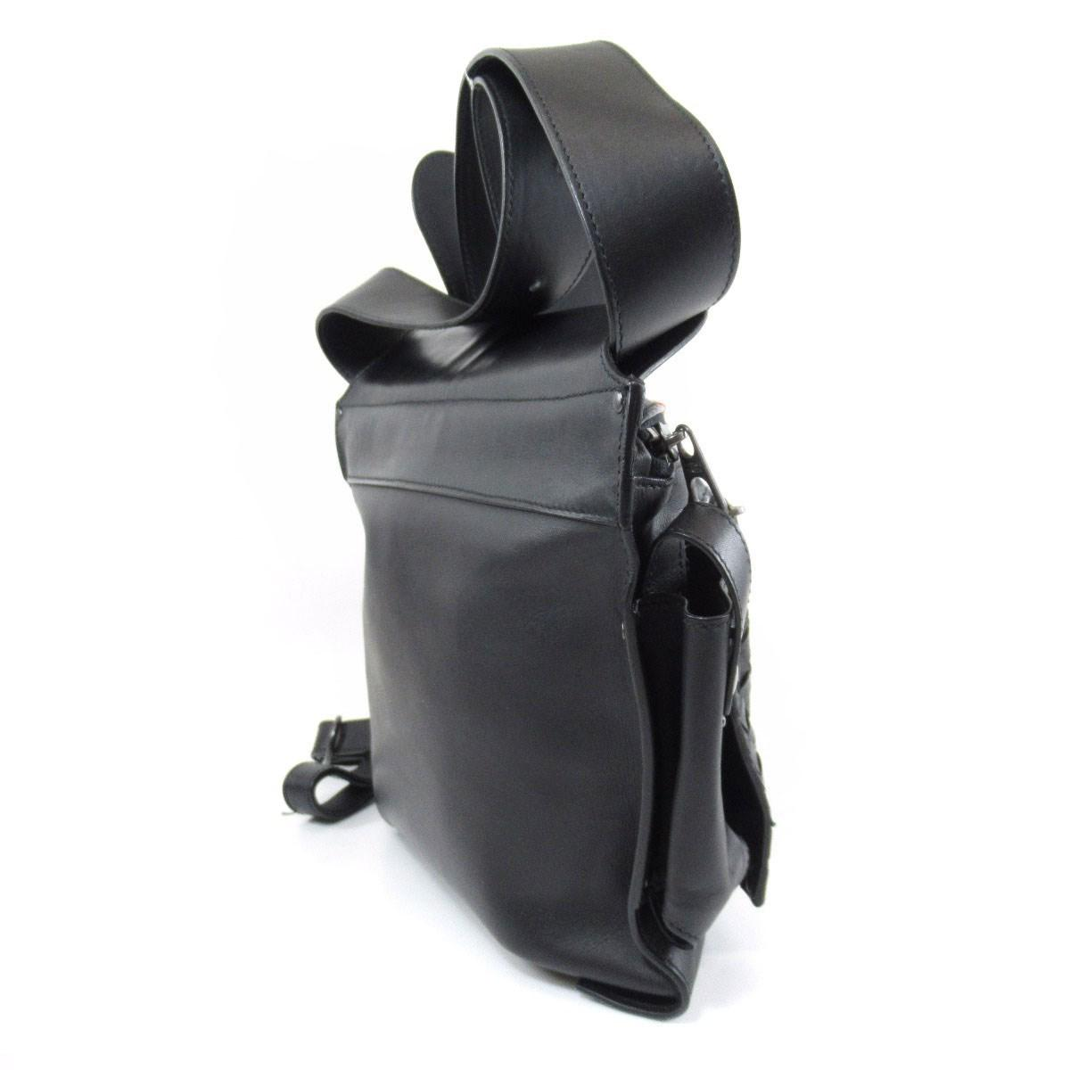 8333446b86 Lyst - Bottega Veneta Leather Hip Bag Waist Bag 121604 V4651 1000 ...