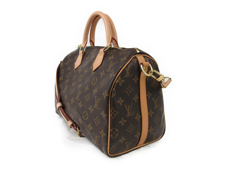 Lyst - Louis Vuitton Speedy Bandouliere 30 Shoulder Boston Hand Bag ... ee22319568bf7