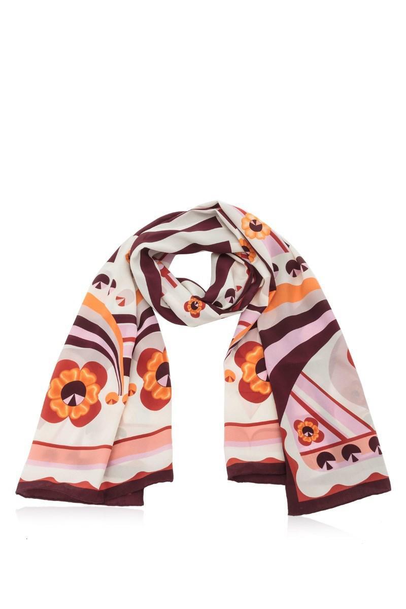Fendi Flowers scarf - Pink & Purple Fendi yNFc9CapJ