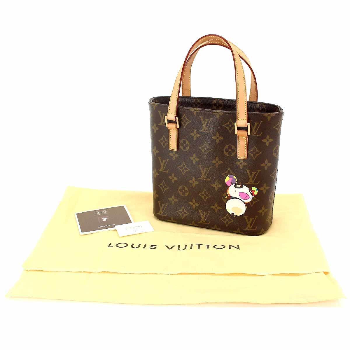 e57a5c72806e Lyst - Louis Vuitton Monogram Panda Vavin Pm Hand Bag M51173 Takashi ...
