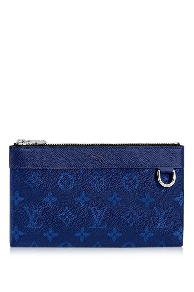 dca07236368 Louis Vuitton Pouch Wallet ''pochette Discovery'' Pm Dring Cobalt ...