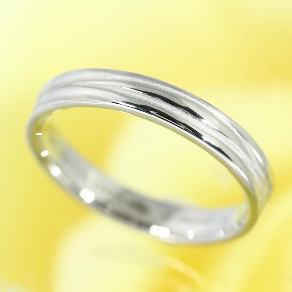 ac68605f751 Lyst - Louis Vuitton Alliance Epi Marriage Ring Ring   Pt 950-4.3g ...