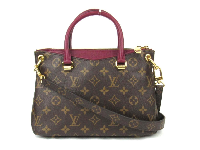 858dc31d26 Louis Vuitton Brown Louisvuitton Pallas Bb 2way Sholuderbag Handbag  Monogram Canvas Raisin M41825
