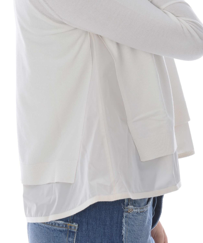 outlet store 97f4b decfa Women's Gray Cardigan In Filo Di Viscosa E Nylon