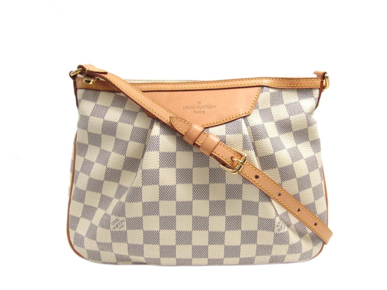 ad6ba6255767 Lyst - Louis Vuitton Siracusa Pm Crossbody Shoulder Bag Damier Azur ...