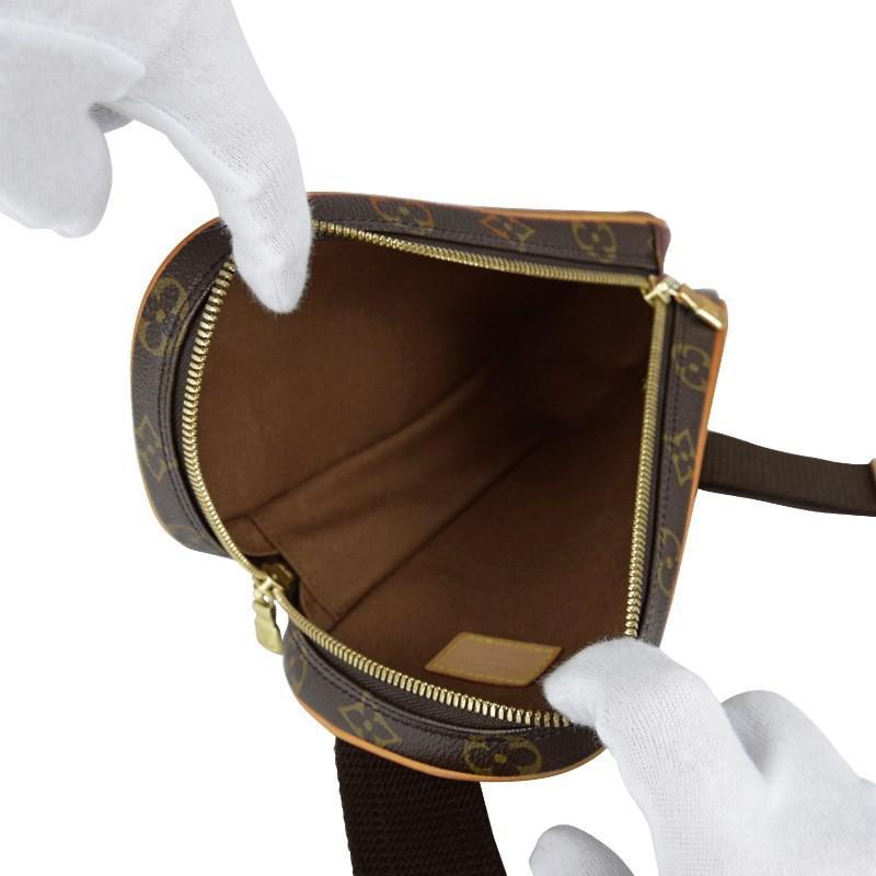 6196a033dc43 Lyst - Louis Vuitton Pochette Gange Shoulder Body Bag 2way Monogram ...