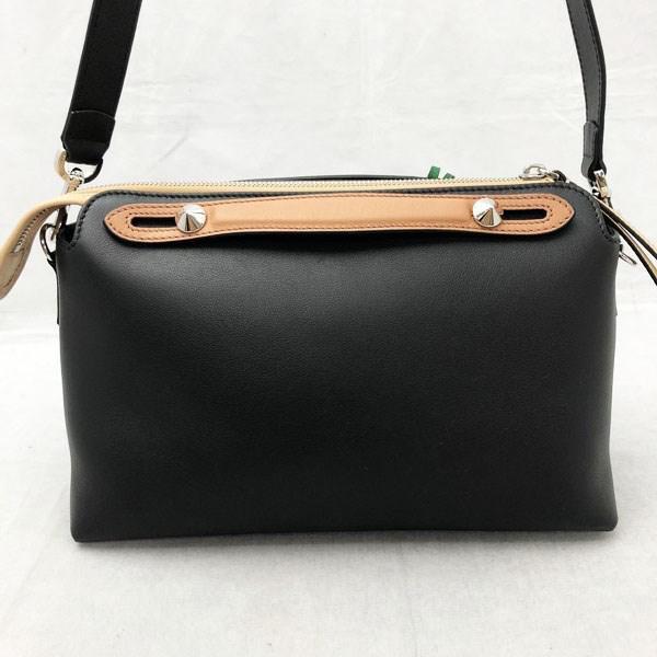 85c6f632 Fendi Black Visorway Small 2way Bag Tricolor Monster 8bl124 5qj F09qu