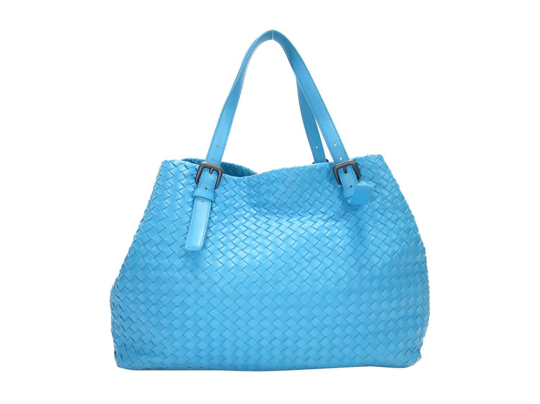 30168136f0e5 Lyst - Bottega Veneta Auth Intrecciato Nappa Large Cesta Bag Tote ...