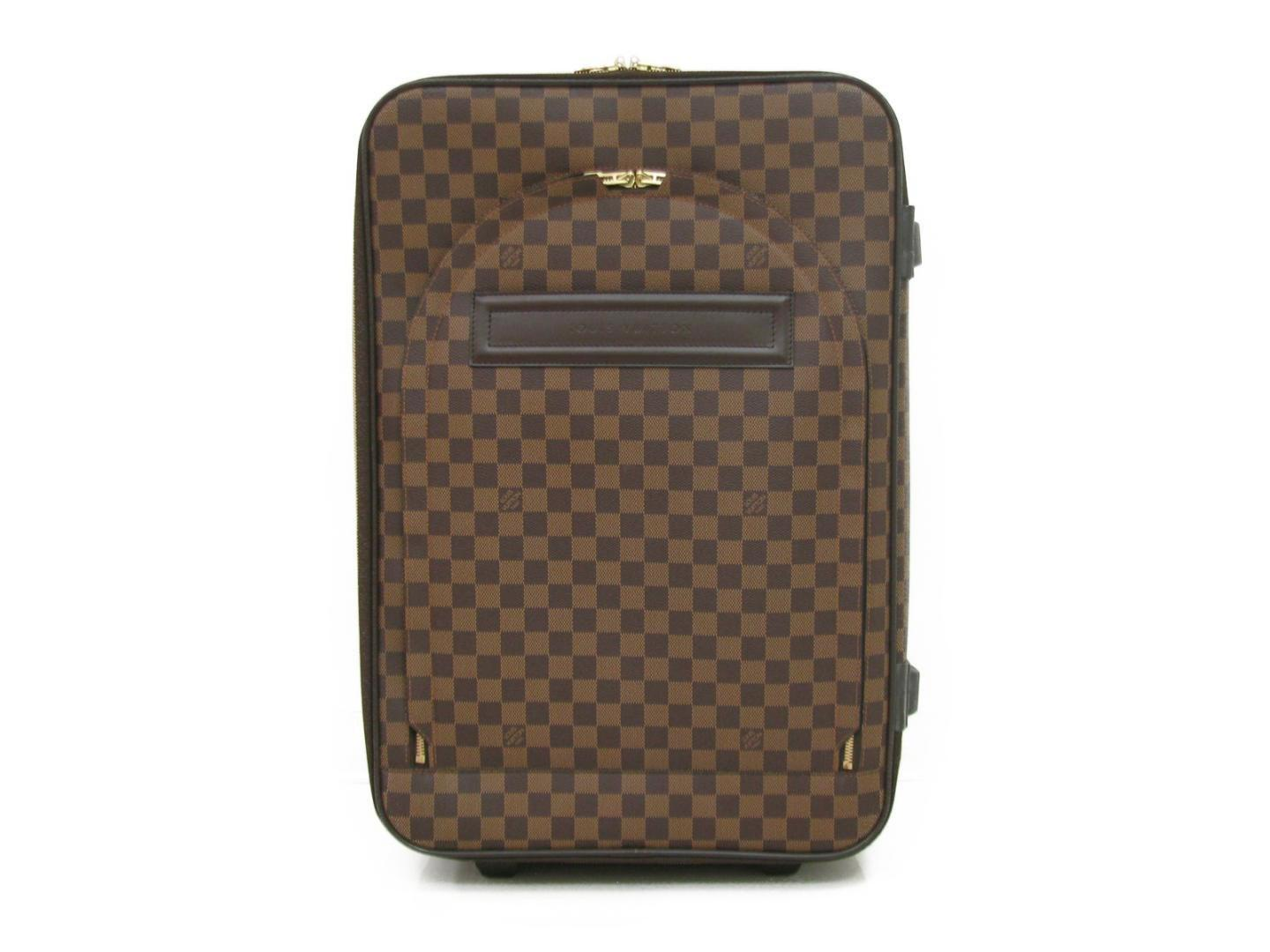 31336bfe7354 Lyst - Louis Vuitton Pegase 60 Damier Travel Suitcase Carry On ...