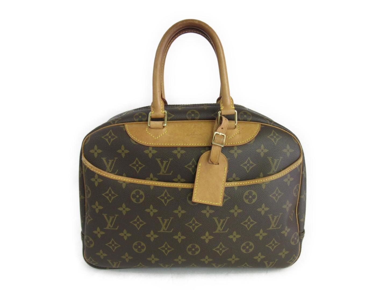 c2388e526f Lyst - Louis Vuitton Deauville Handbag Bag Monogram Canvas M47270 in ...