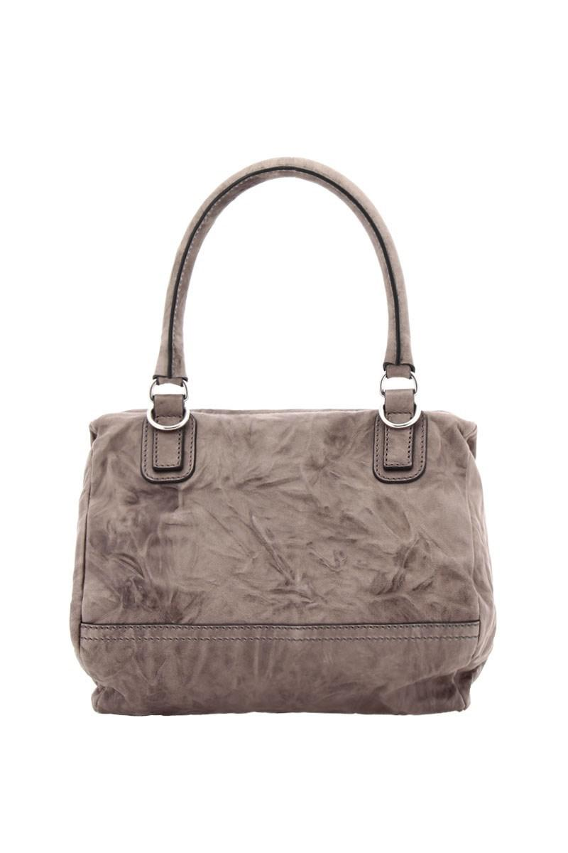 461d5b35de Lyst - Givenchy Women s Grey Leather Shoulder Bag in Gray