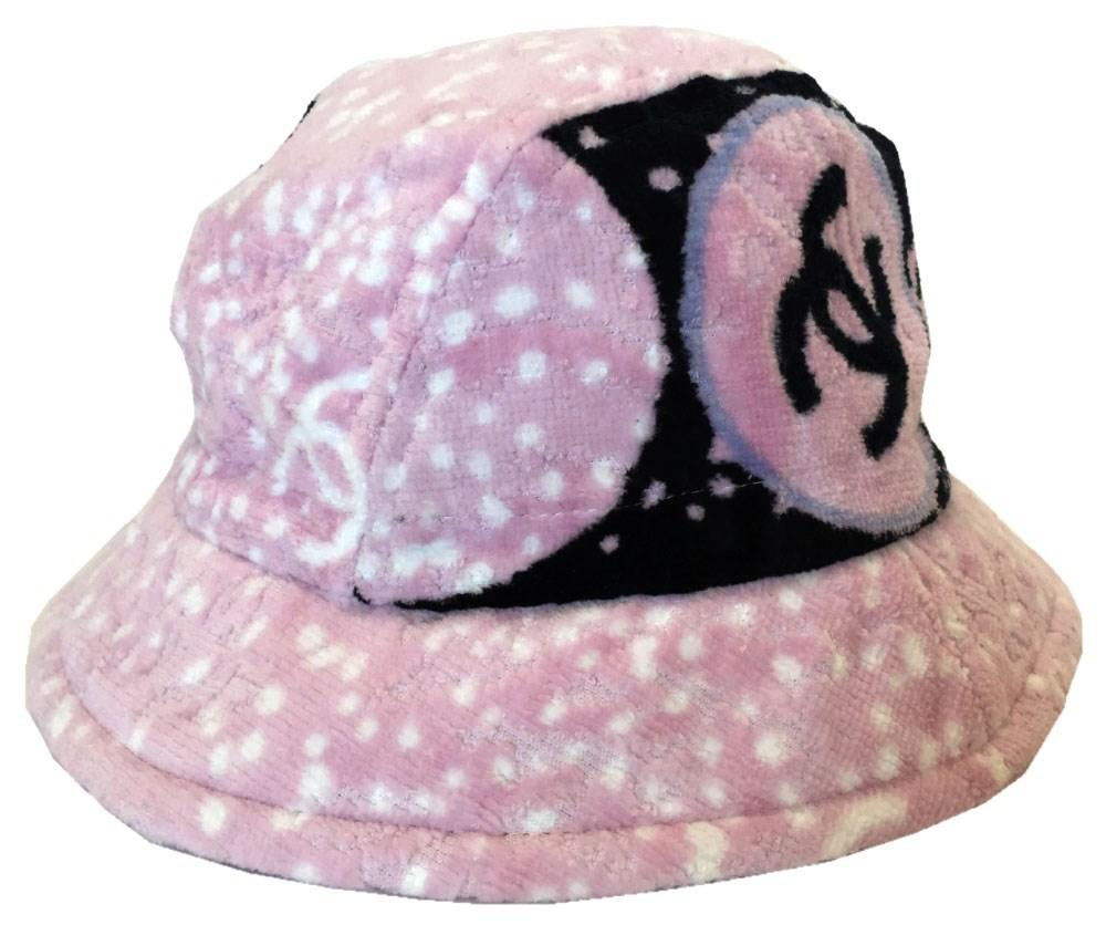 e37200e9 Chanel Hat Ladies Pink Coco Mark Size: M in Pink - Lyst