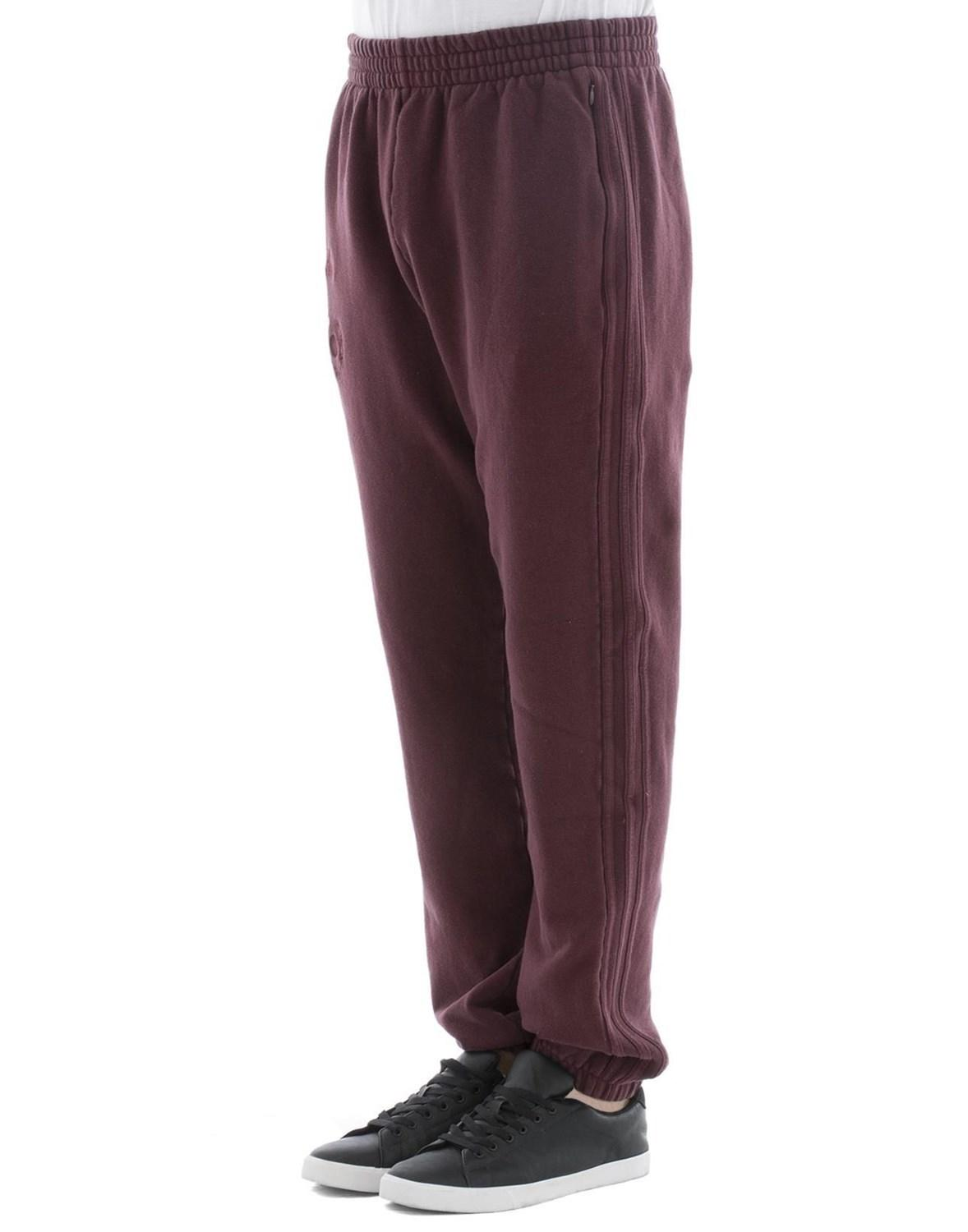 b67966f0 Lyst - Yeezy Men's Kw5u3002oxbloodo Burgundy Cotton JOGGERS in Red for Men  - Save 1%