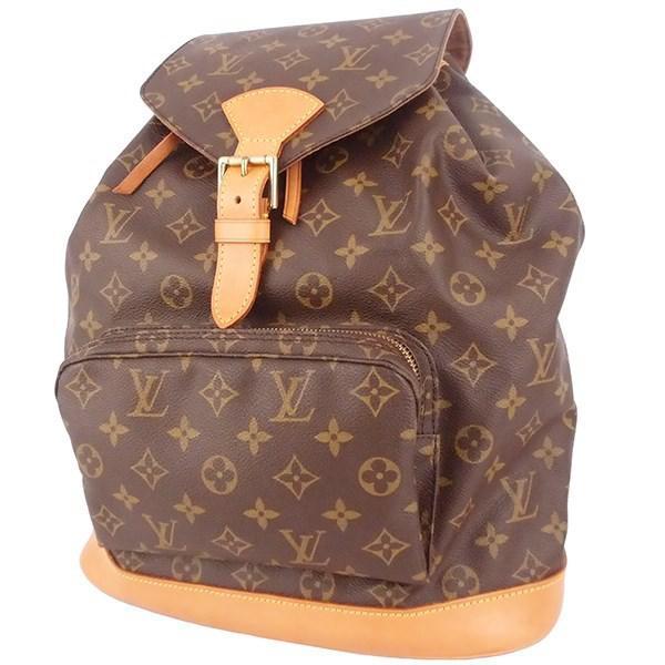 316f5366438c Louis Vuitton - Brown Montsouris Gm Monogram M51135 Backpack Women s Men s  - Lyst