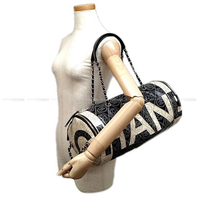 ed8d58dbb8f4 Lyst - Chanel 2018 S s New Camelia coco Mark Logo Bowling Chain Bag ...