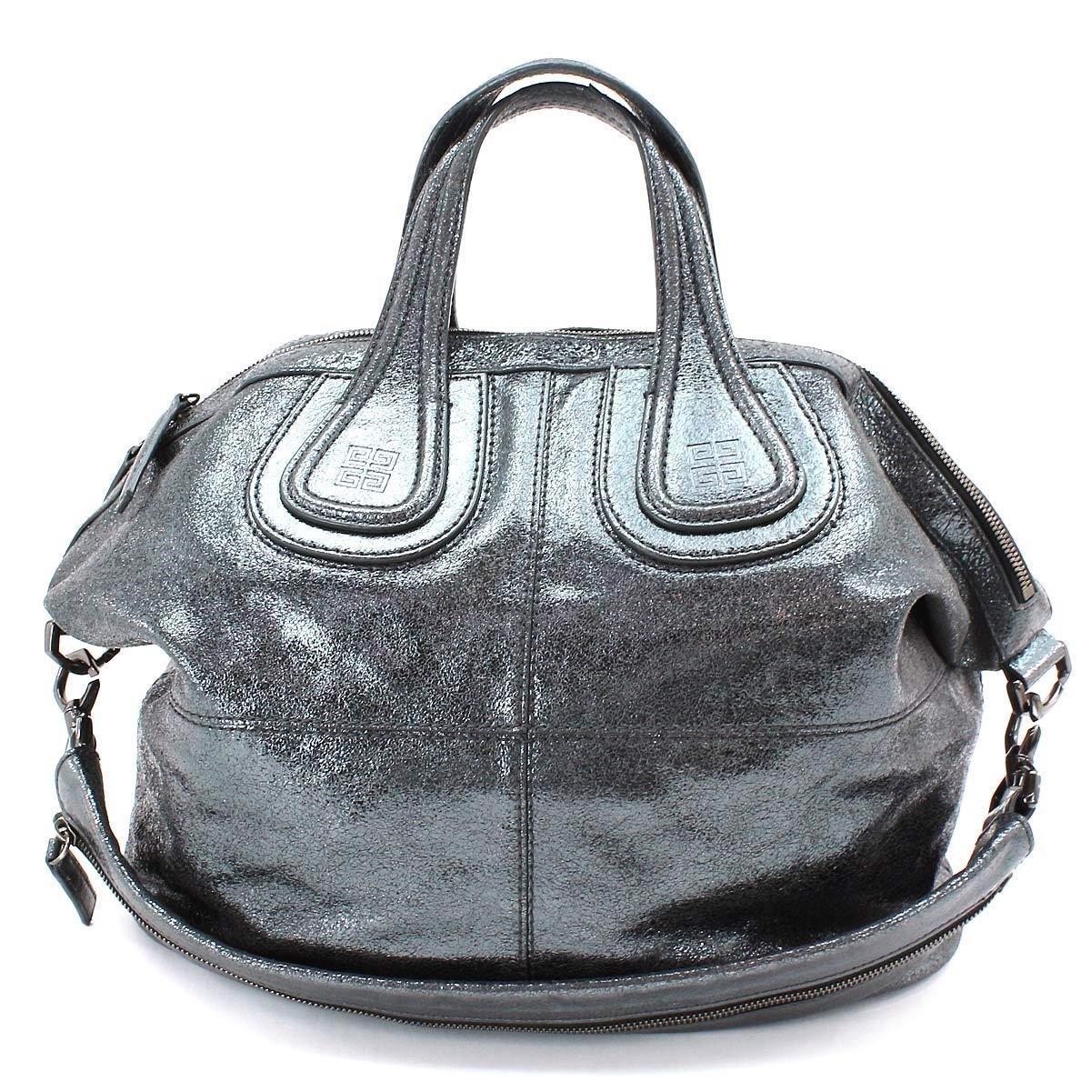 d3d8caeeaa Lyst - Givenchy Nightingale Medium 2way Hand Bag Leather Metallic ...
