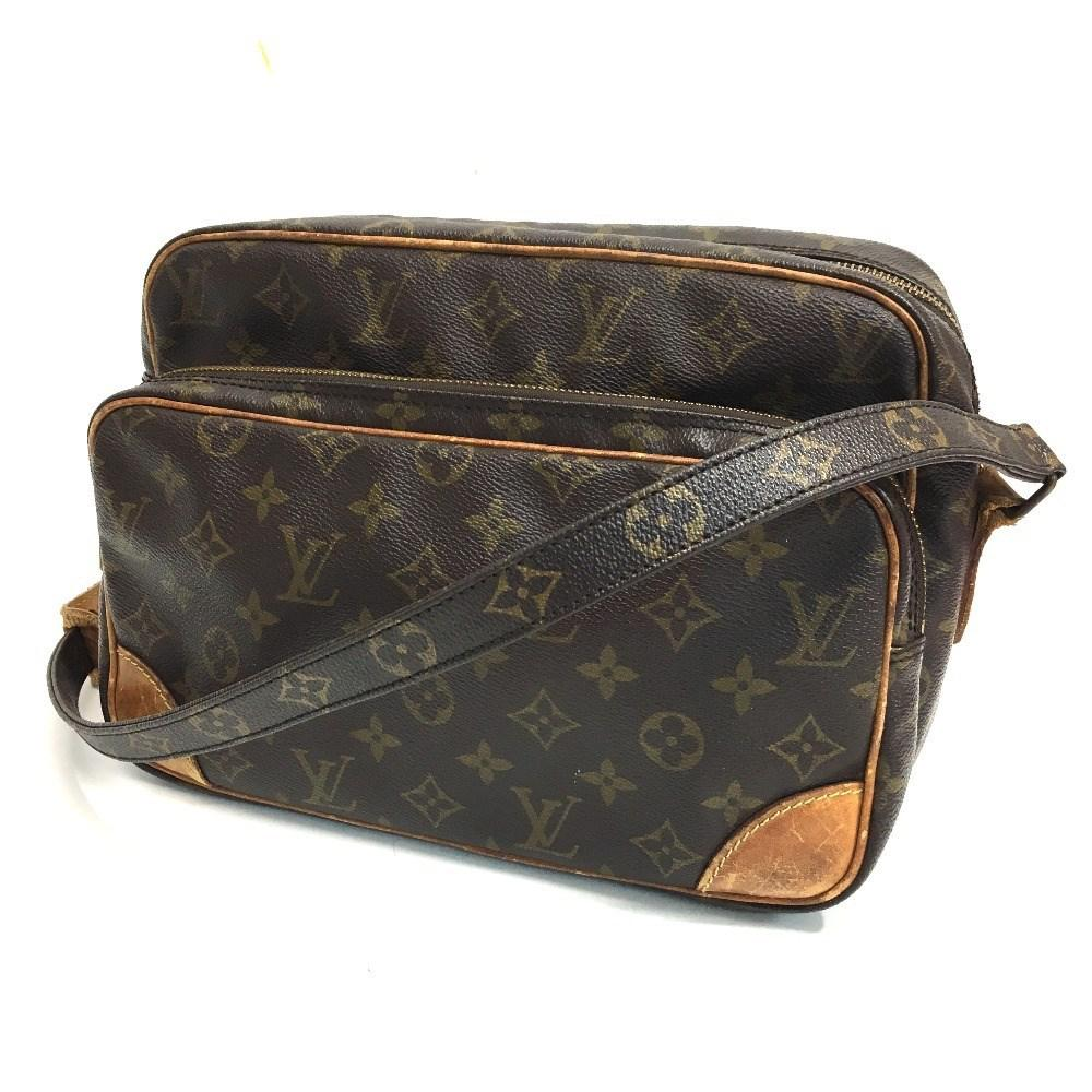 adb42a26bd Louis Vuitton Brown Monogram Nile Men's Women's Shoulder Bag Monogramcanvas  M45244