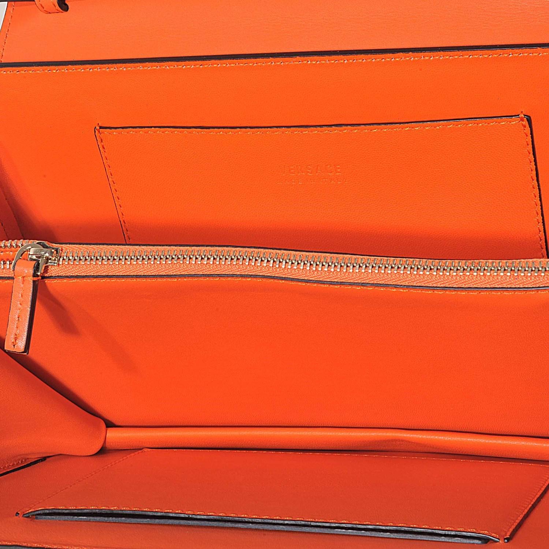 4c4d414a46d ... super popular 09d52 1d251 Versace - Orange The Dv1 Small Handbag  Crossbody - Lyst.