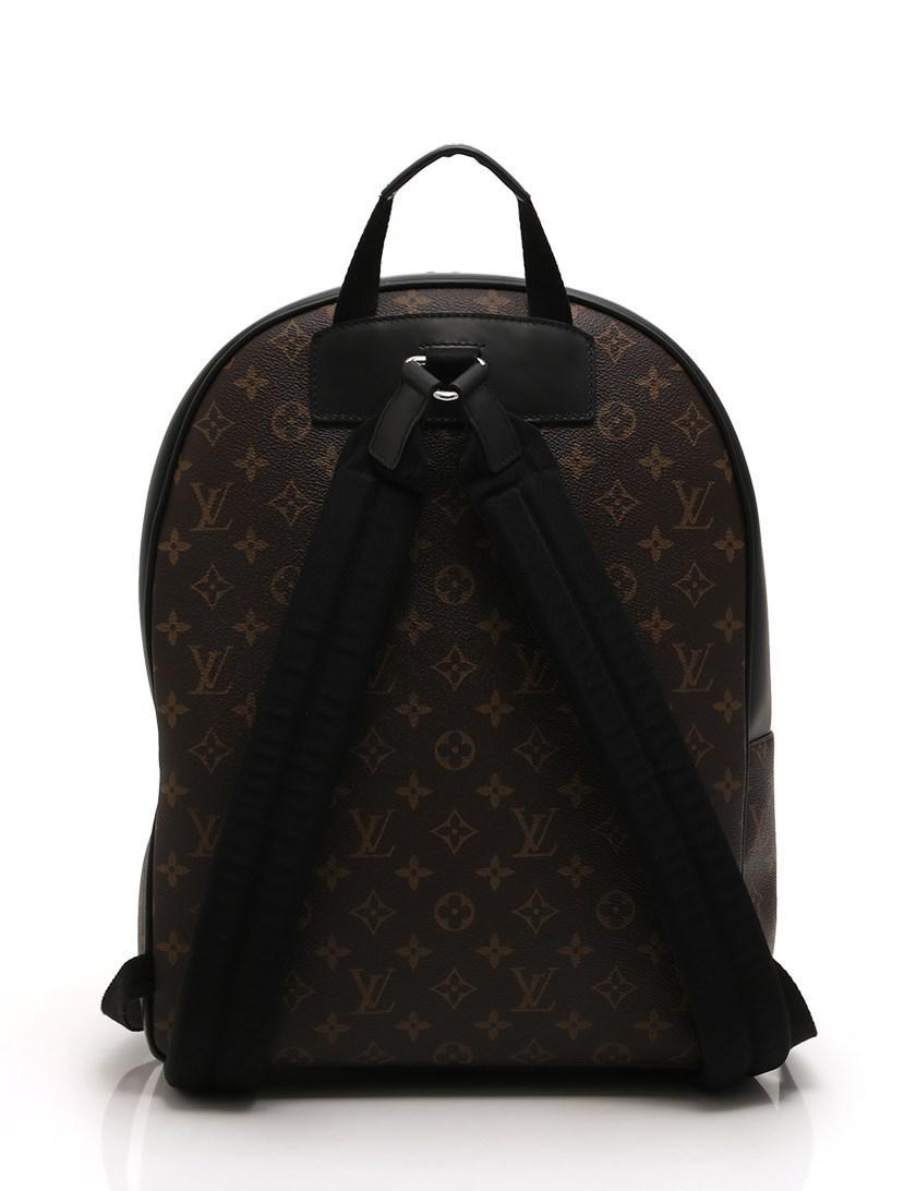 8892eda4de9d Lyst - Louis Vuitton Josh Backpack Monogram Macassar Pvc Leather ...