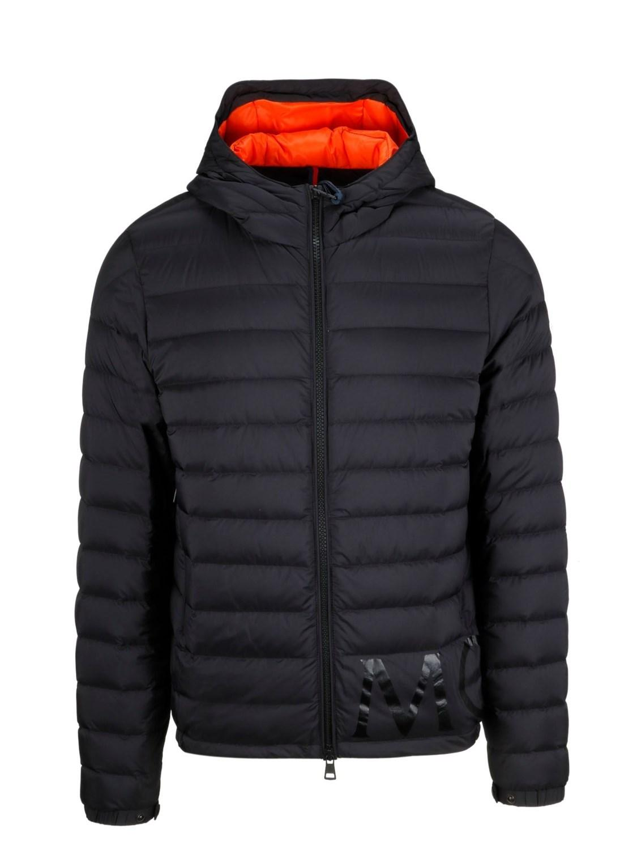 63c196f4fb83 Lyst - Moncler Men s 403769953333999 Black Polyamide Down Jacket in ...