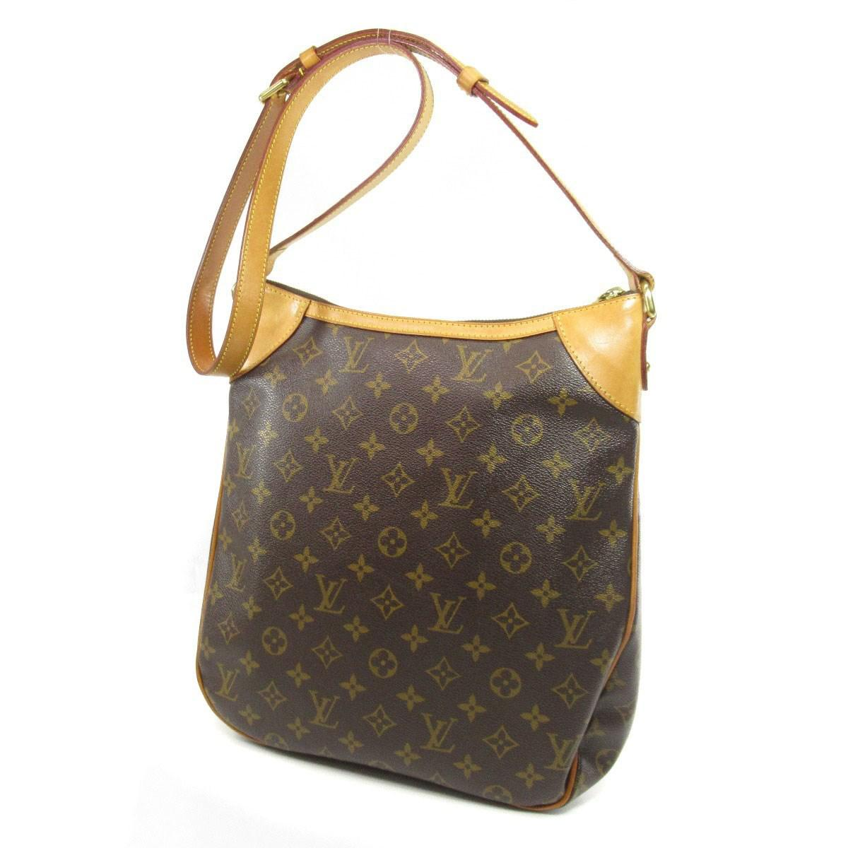 a368d436dbe1 Lyst - Louis Vuitton Monogram Canvas Shoulder Bag M56389 Odeon Mm in ...