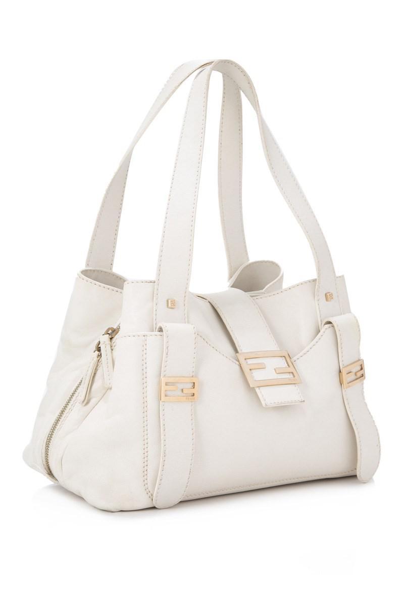 Fendi Pre-owned - White Leather Handbag oMhly