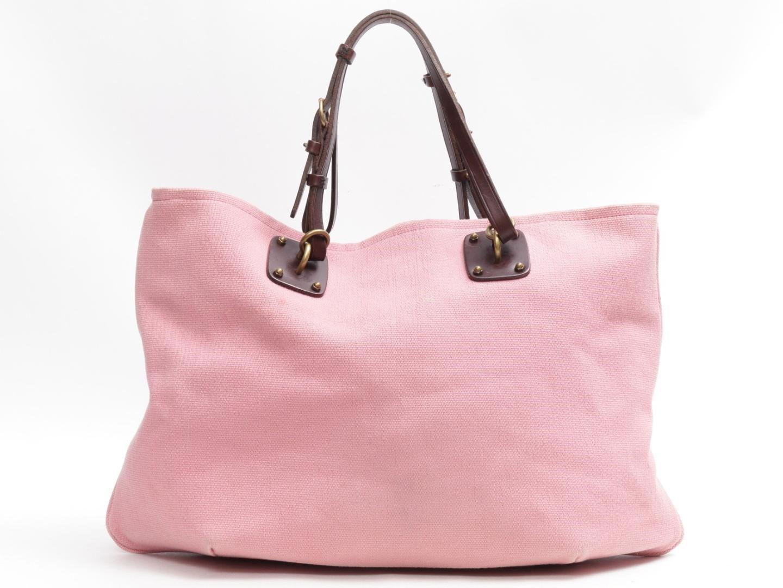 Lyst - Bottega Veneta Tote Bag Canvas Pink in Pink 697eabca60fab